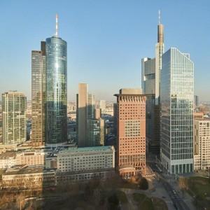 Skyline Frankfurt mit Gardentower