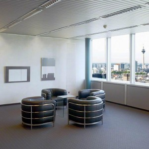 Dreischeibenhaus, Vorstandsbüro Thyssen Krupp